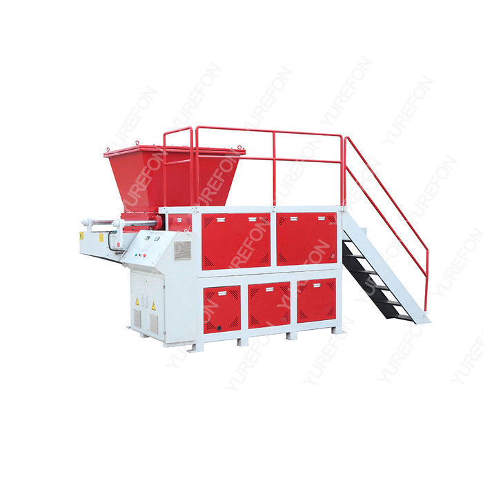 SN - S3980 Single Shaft Plastic Shredder Machine For Garbage Waste Clothes Fiber